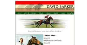 David Barker Racehorse Trainer