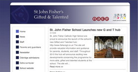 St John Fisher's G & T